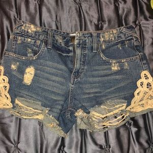 FREE PEOPLE jean shorts! NEVER WORN